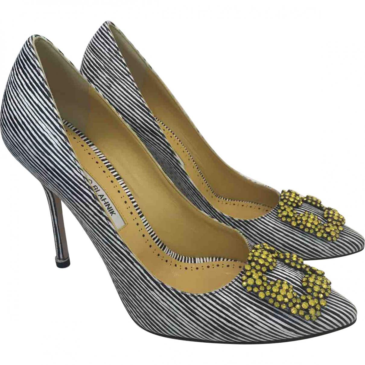 Pre-owned - Hangisi heels Manolo Blahnik IbOr3op0