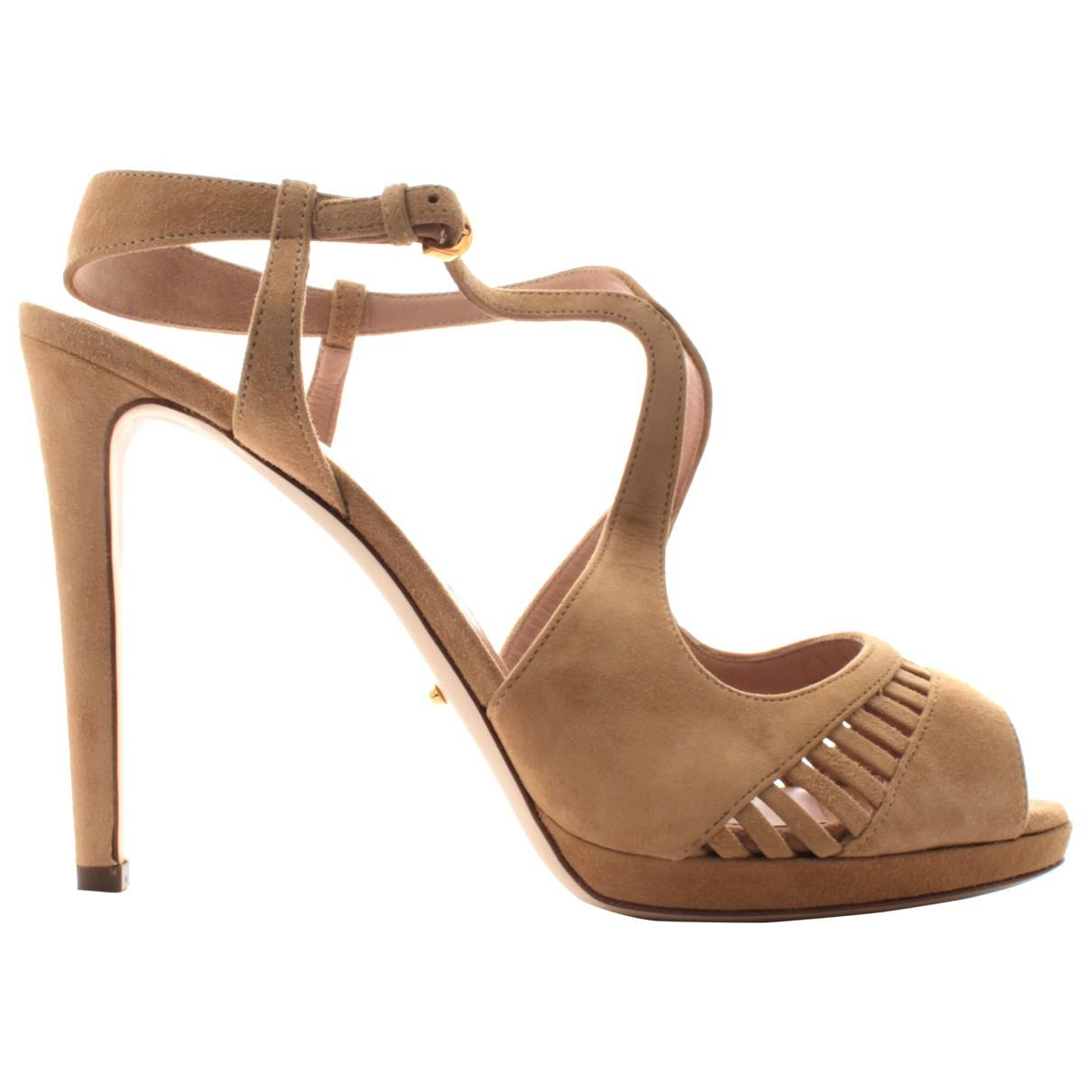 Pre-owned - Leather sandal Sergio Rossi Popular Sale Online Cheap Sale Shopping Online Outlet Footaction Clearance For Cheap d59SOXXs1