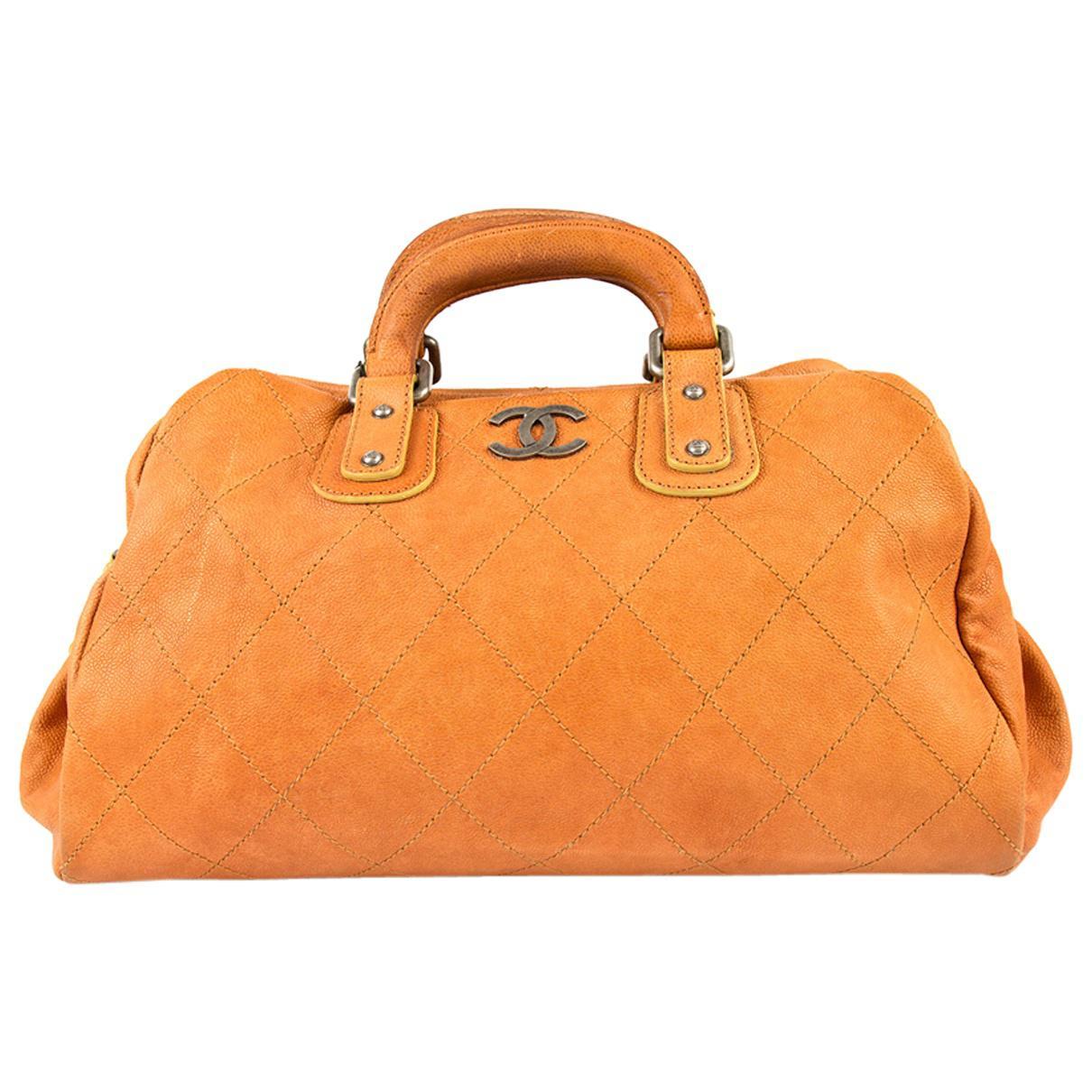 Chanel Pre-owned - Orange Leather Handbag mBBrjDDl14