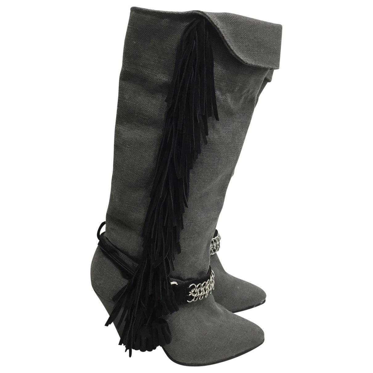 Pre-owned - Cloth boots Balmain cFd5n8