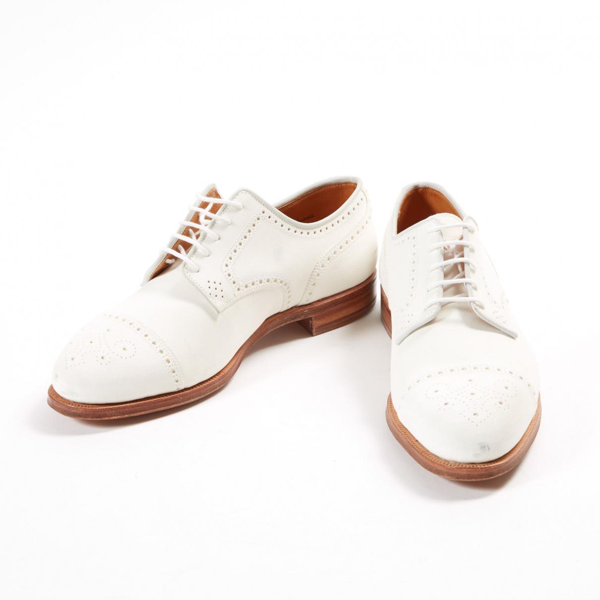 De Ville Pour Lauren Chaussures En Lyst Cuir Collection Ralph TwfzSHxq