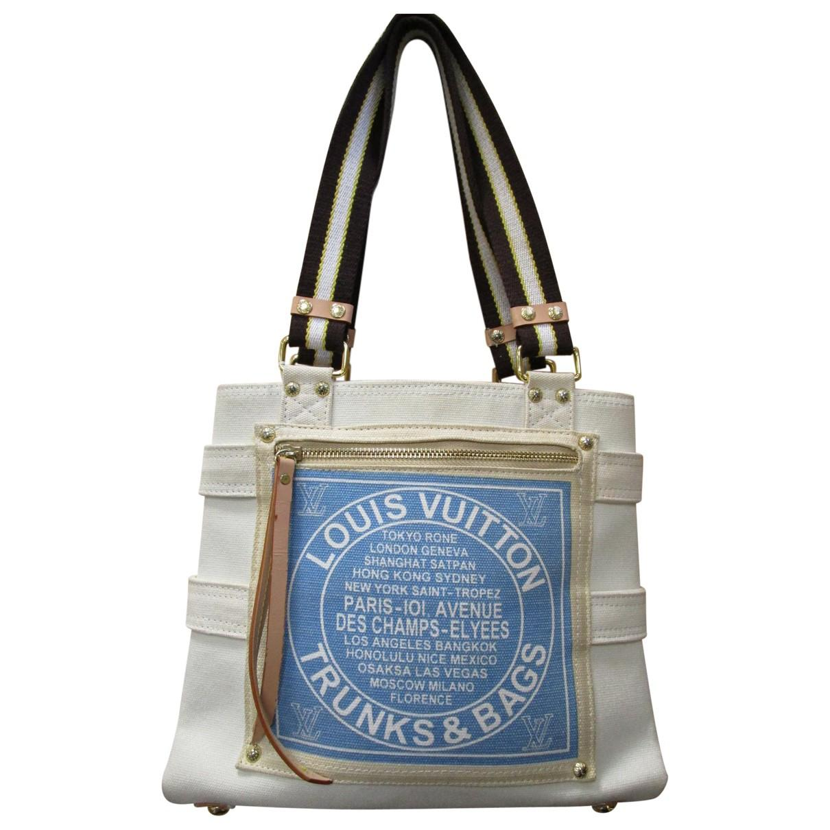 Louis Vuitton Women S Ecru Cloth Handbag
