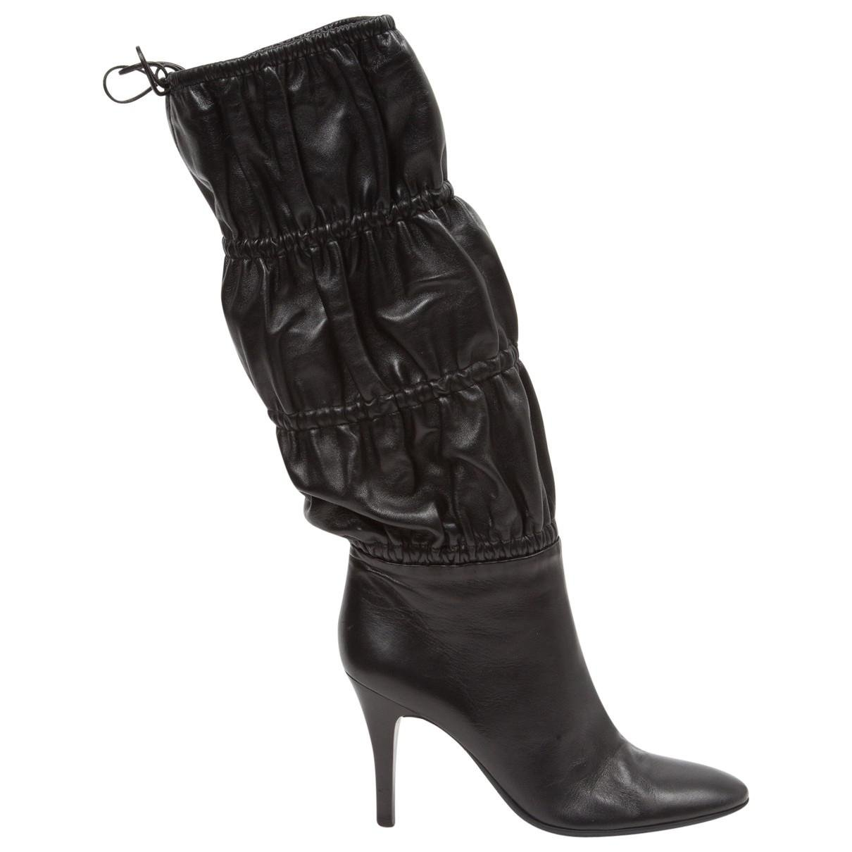 Cheap Sale New Pre-owned - Leather boots Roberto Cavalli Find Great 2018 Unisex Sale Online Cheap Fashion Style Discounts VSrQs
