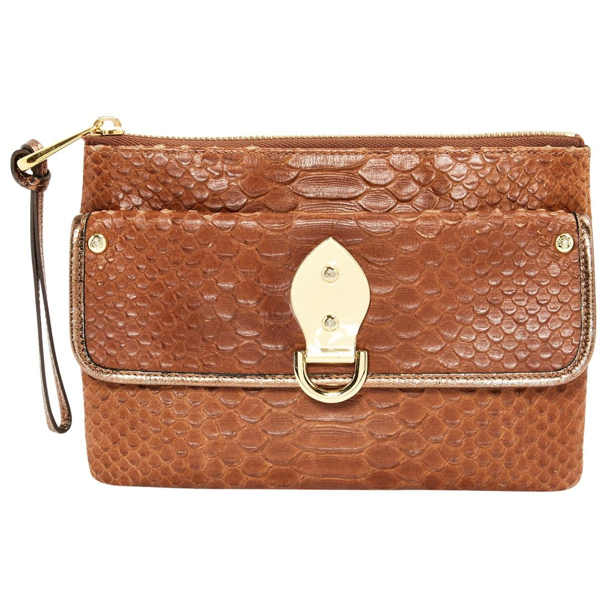 f3438fe6ed581d Mulberry. Women's Brown Python Clutch Bag. £304 £274 From Vestiaire  Collective