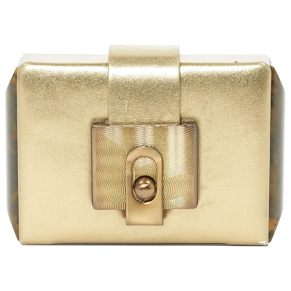 Lanvin Pre-owned - Leather clutch bag rHBToL