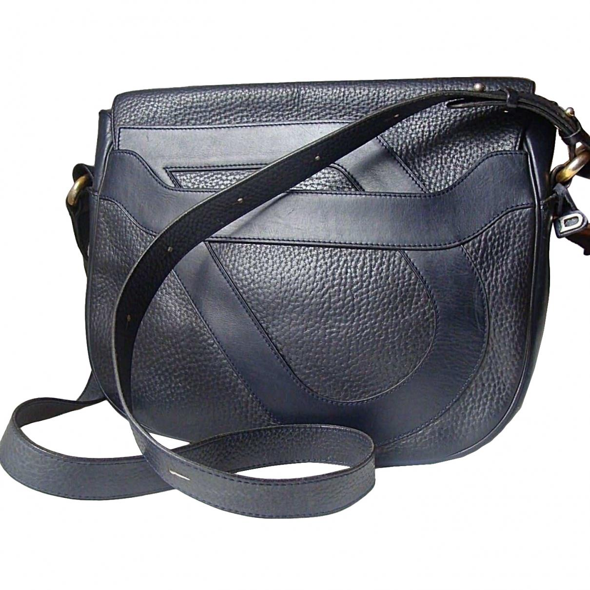852d20cede Lyst - Delvaux Leather Crossbody Bag in Blue