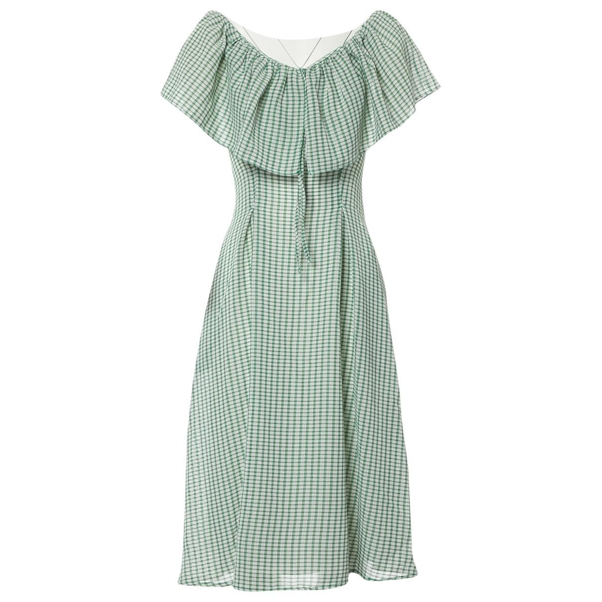 9fa11c4217b Lyst - Rejina Pyo Mid-length Dress in Green
