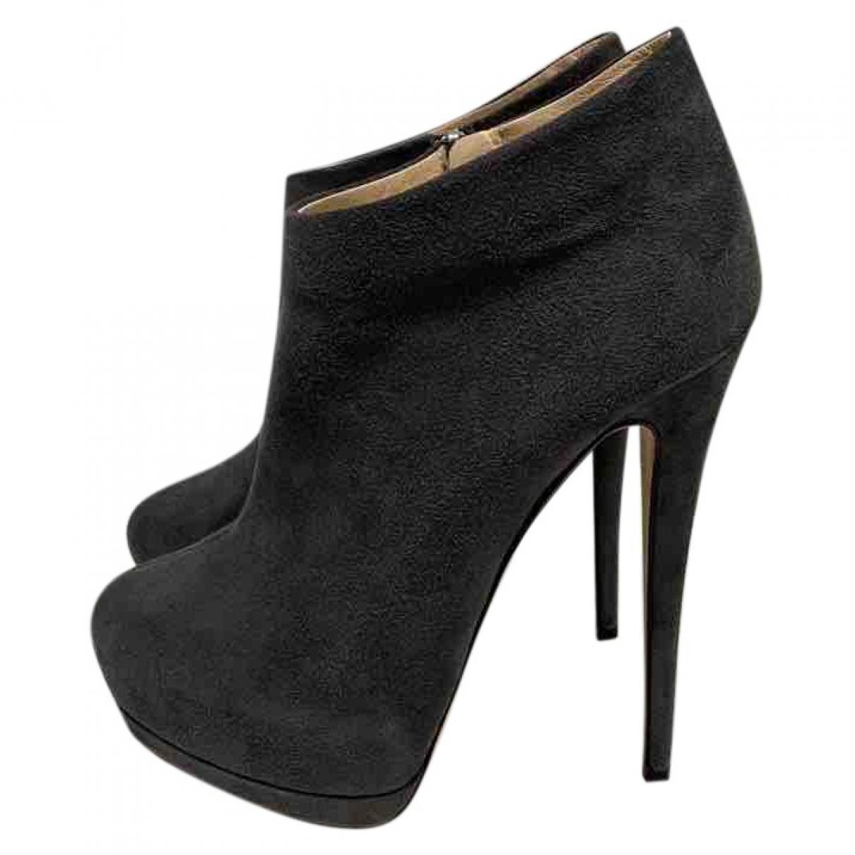499133bfe Giuseppe Zanotti. Women's Gray Ankle Boots. $302 From Vestiaire Collective