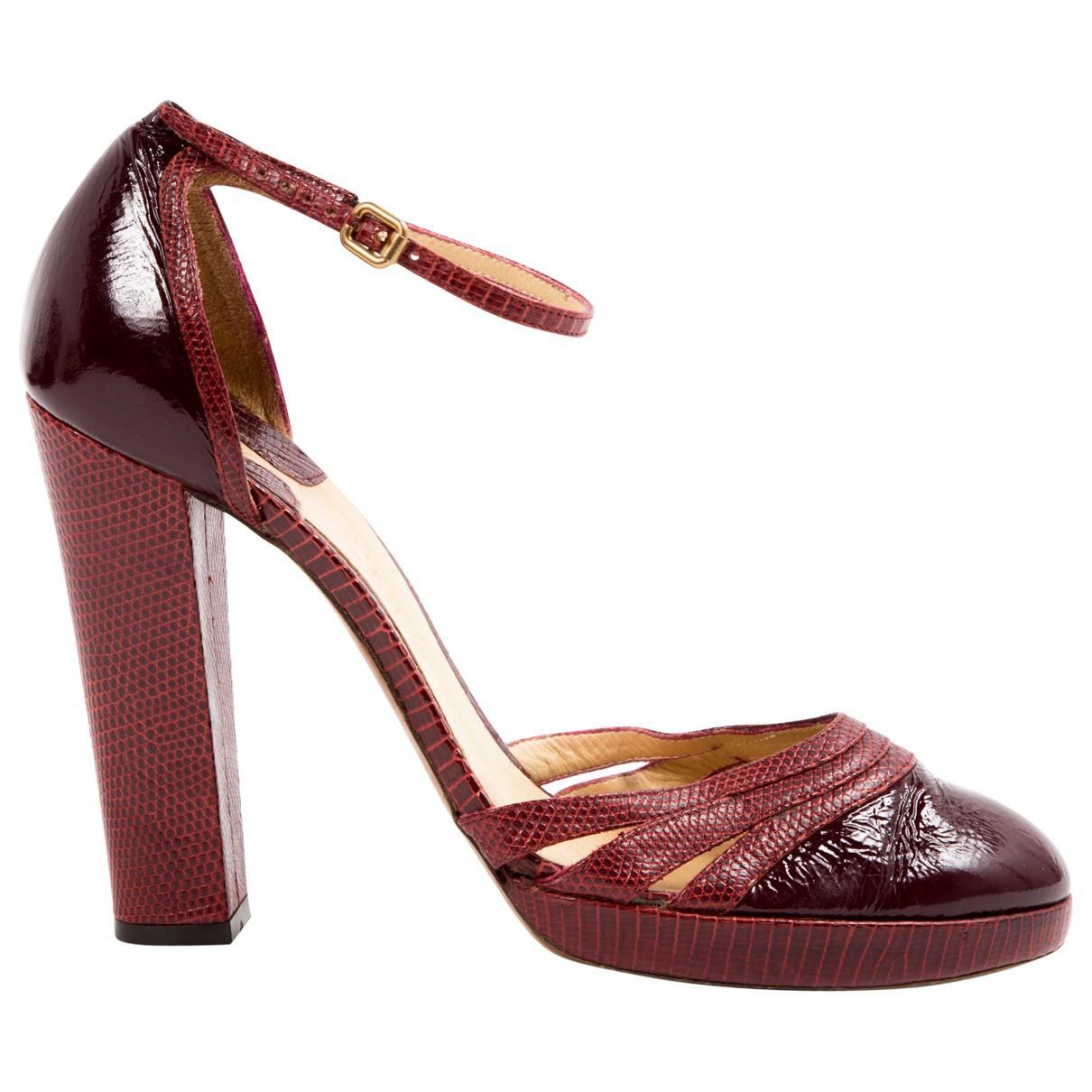 Pre-owned - Lizard heels Chlo iaHIXy
