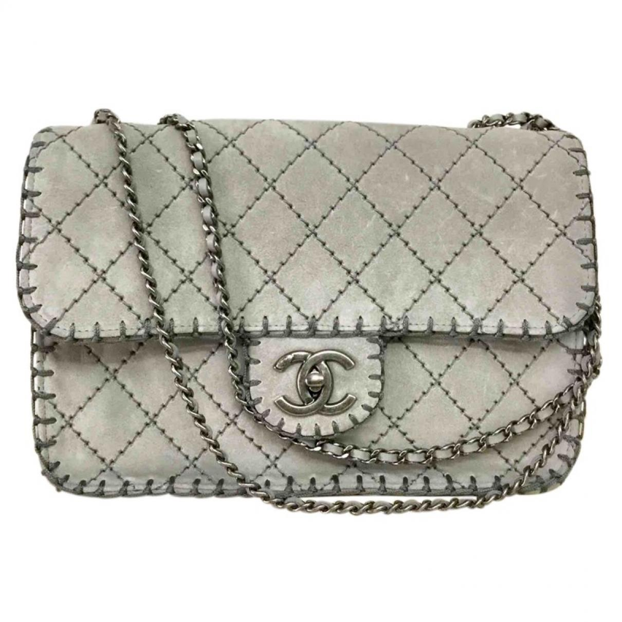 233c9a471063 Chanel. Women's Gray Timeless/classique Crossbody Bag. $2,831 From Vestiaire  Collective