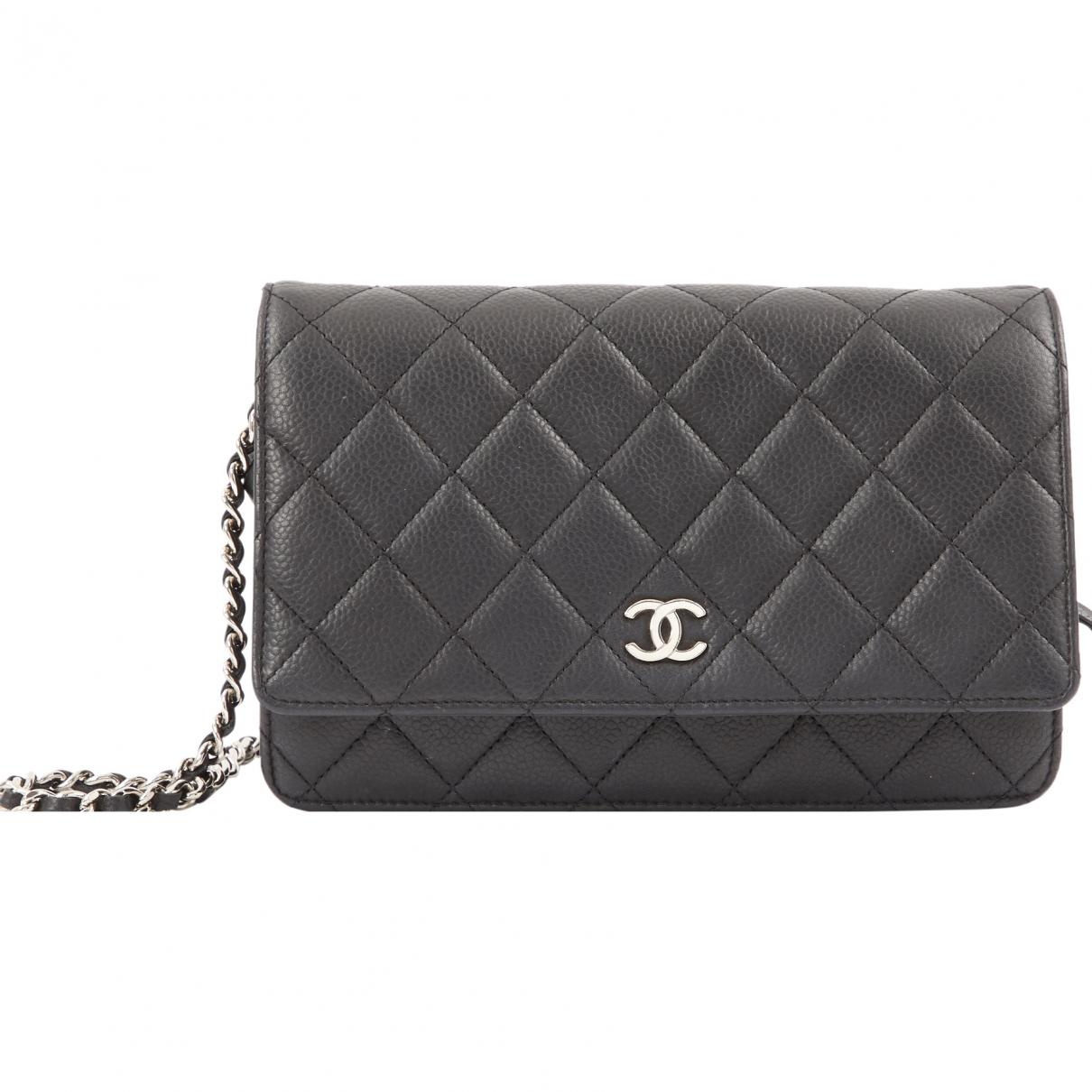 Chanel Pre-owned - Leather clutch bag sKktEdVPO