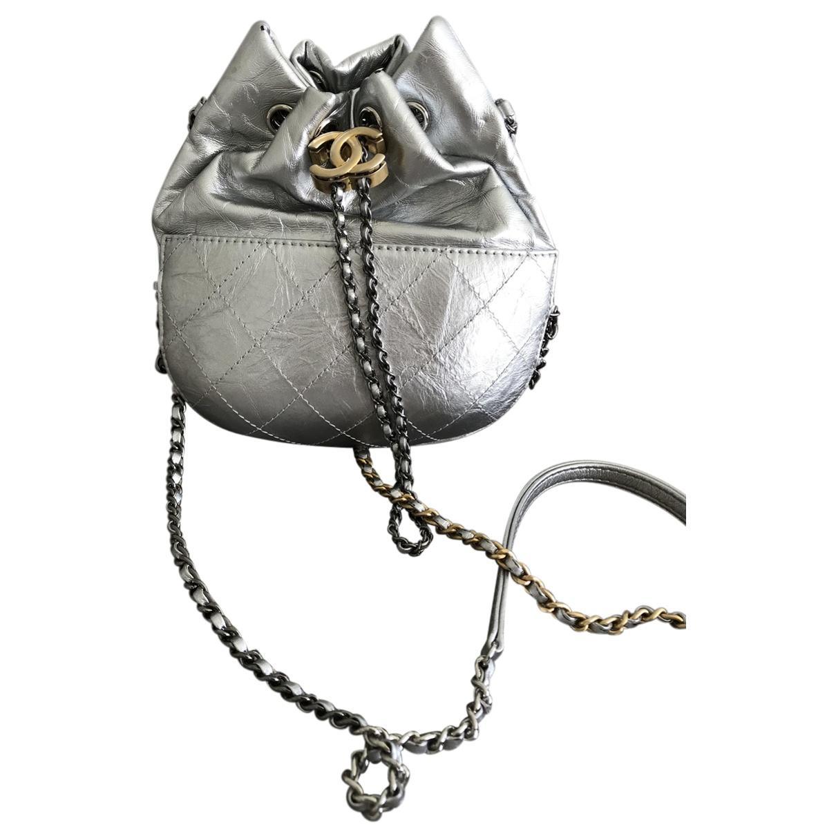 1898a181d83c Chanel Gabrielle Metallic Leather Handbag in Metallic - Lyst