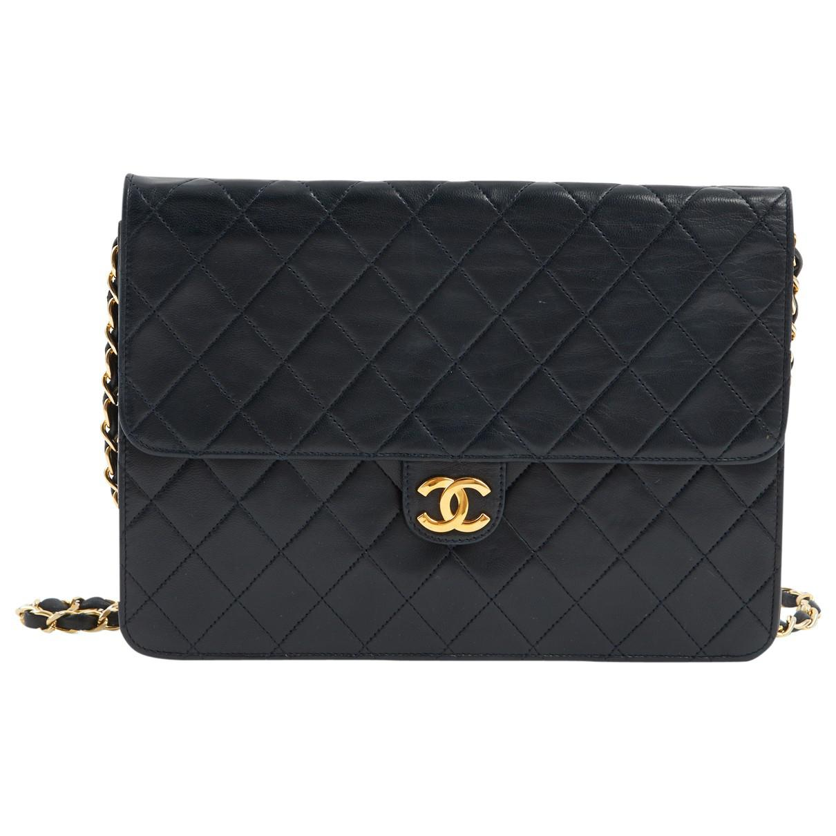 Chanel Pre-owned - Leather clutch bag osY0S