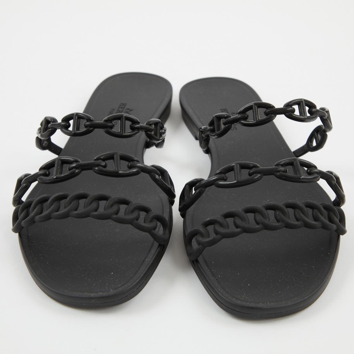 Mules Lyst Black Nude Hermès In Dywehi92 7gbf6y