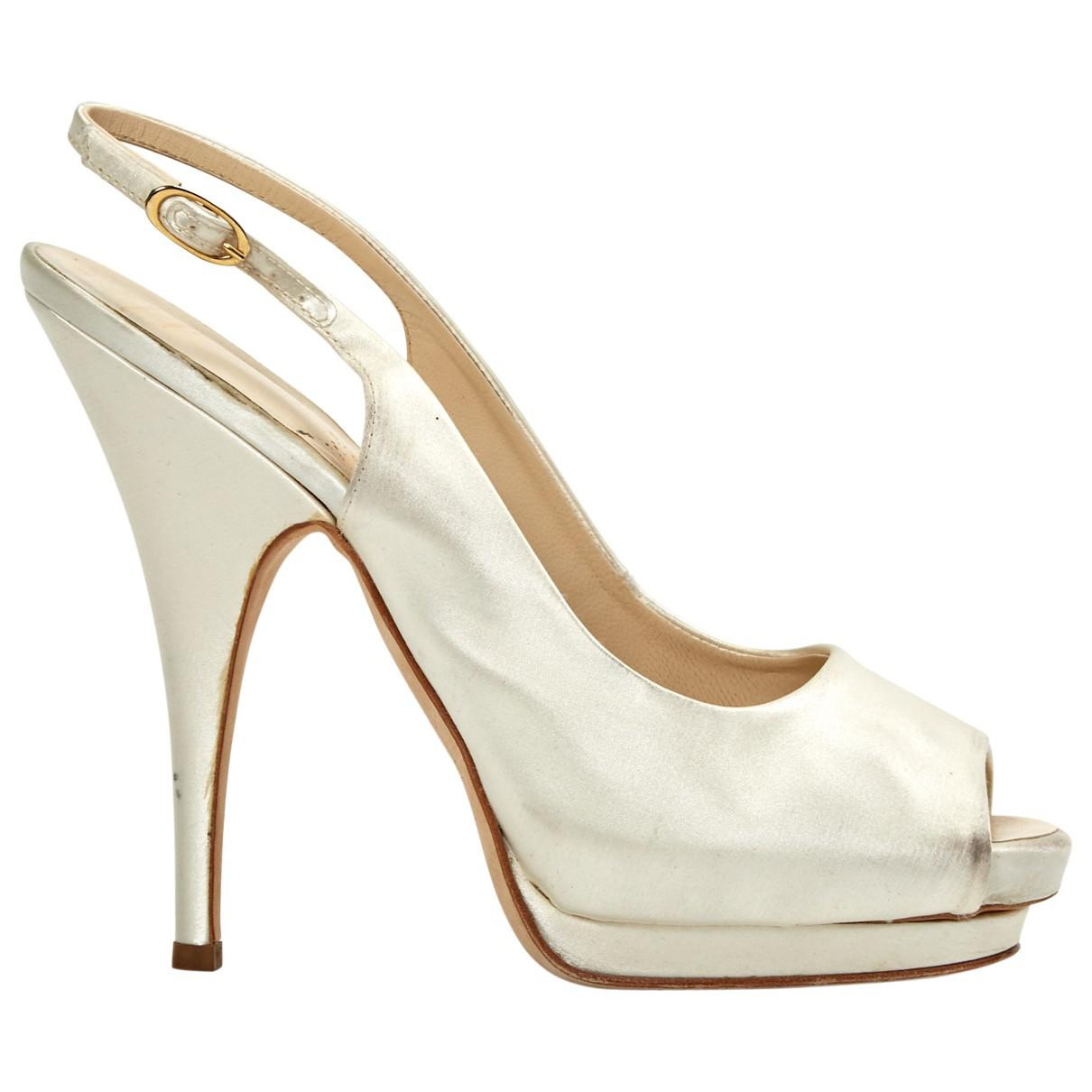 6bbbff4cf0 Giuseppe Zanotti. Women's Pre-owned Cloth Heels