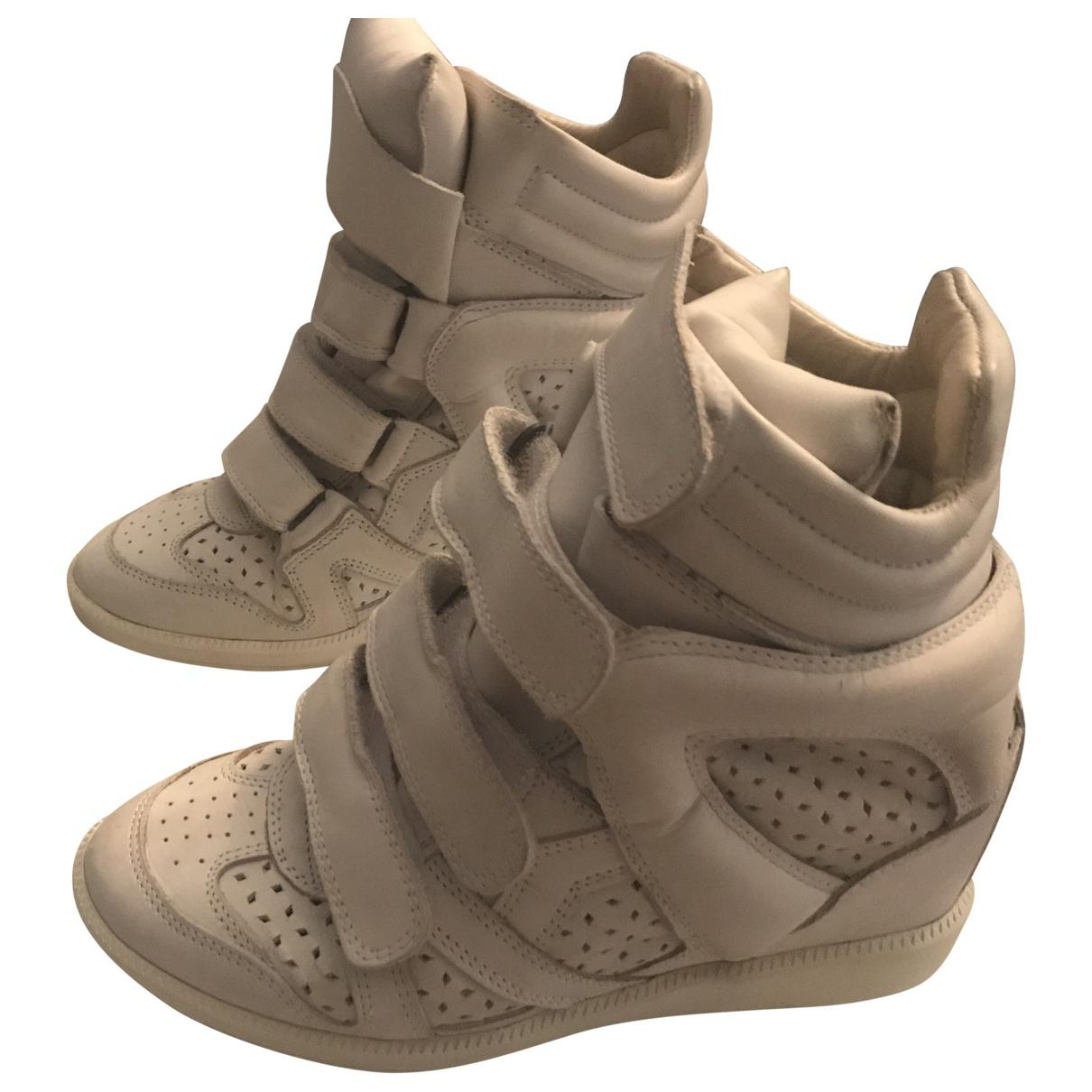 Pre-owned - Leather trainers Isabel Marant OwY4FYqX