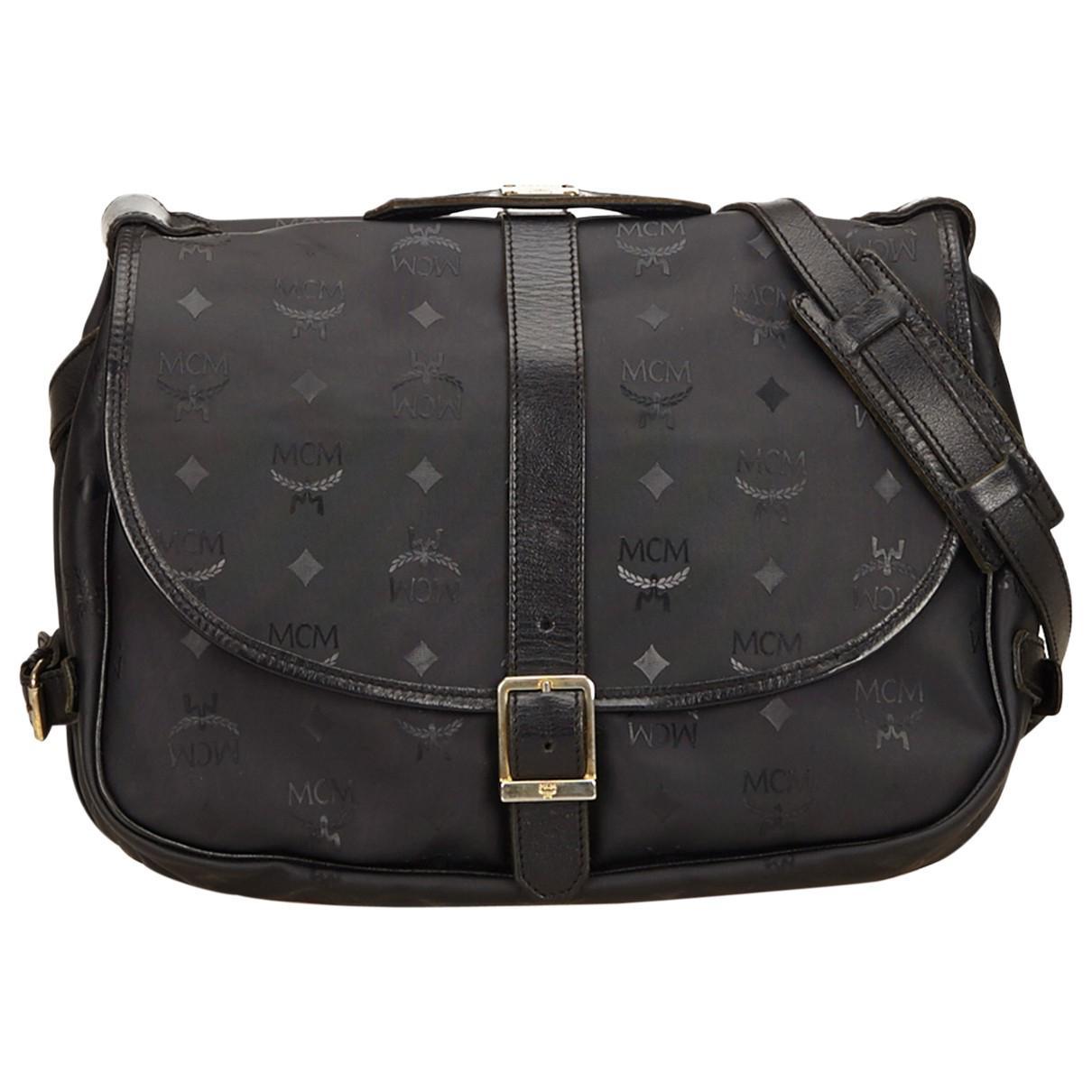 2174969e543f MCM Pre-owned Vintage Black Plastic Handbags in Black - Lyst