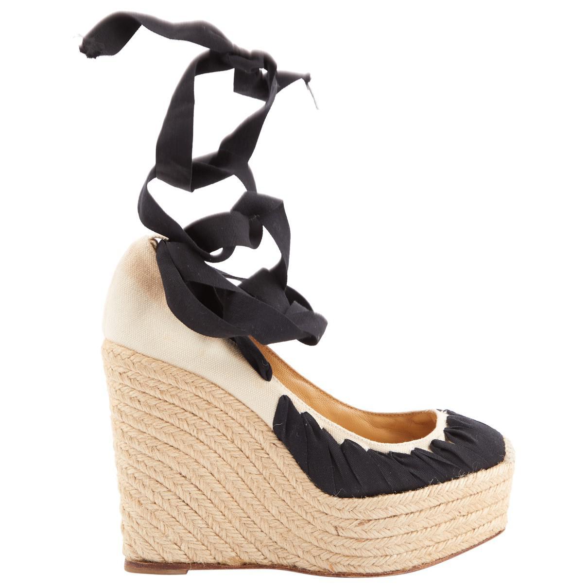 Christian Louboutin Cloth Sandals