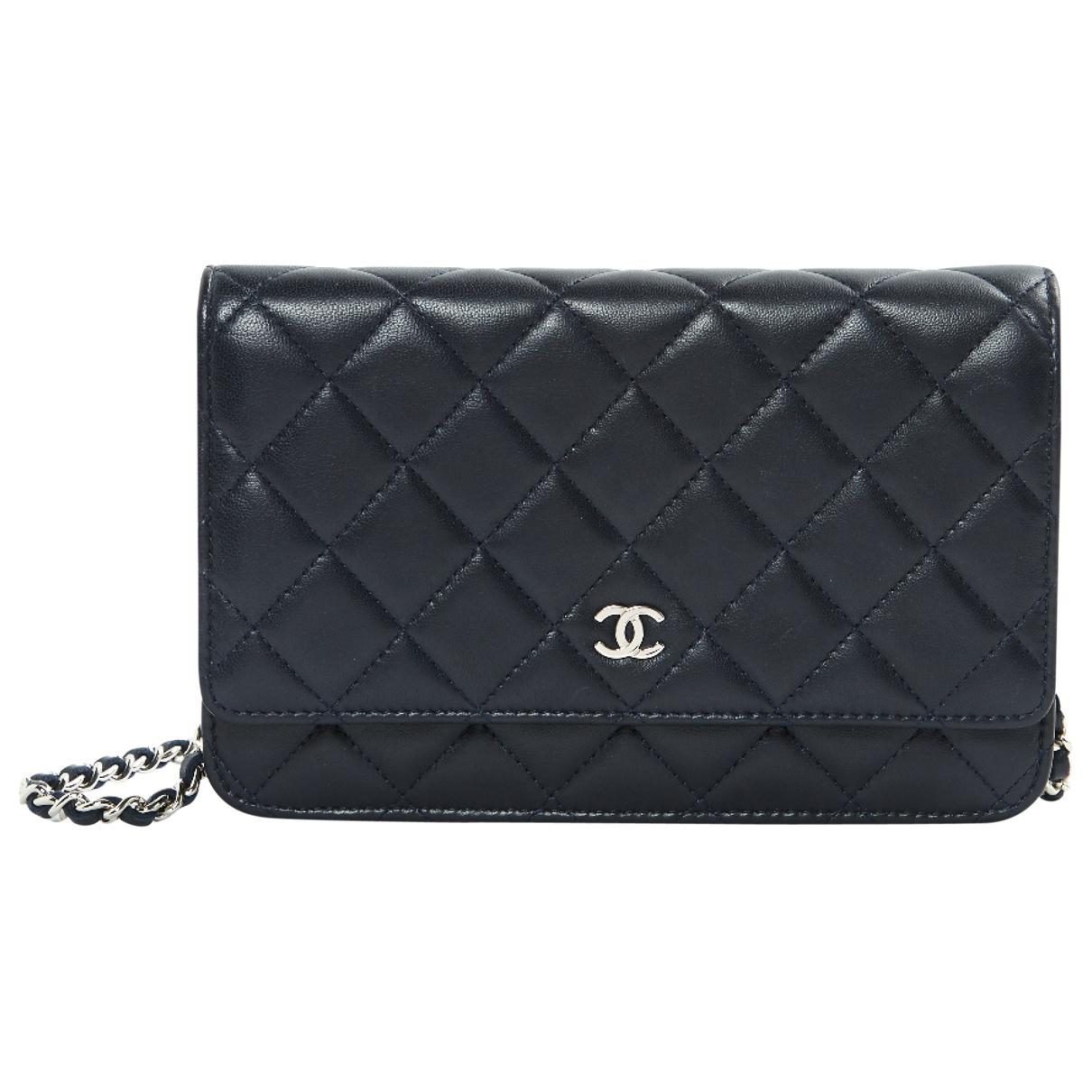 Pre-owned - Wallet on Chain leather clutch bag Chanel ipLFDMc