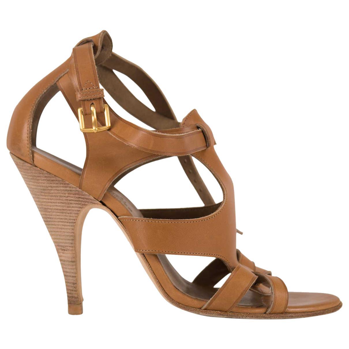Hermès Leather Escarpins