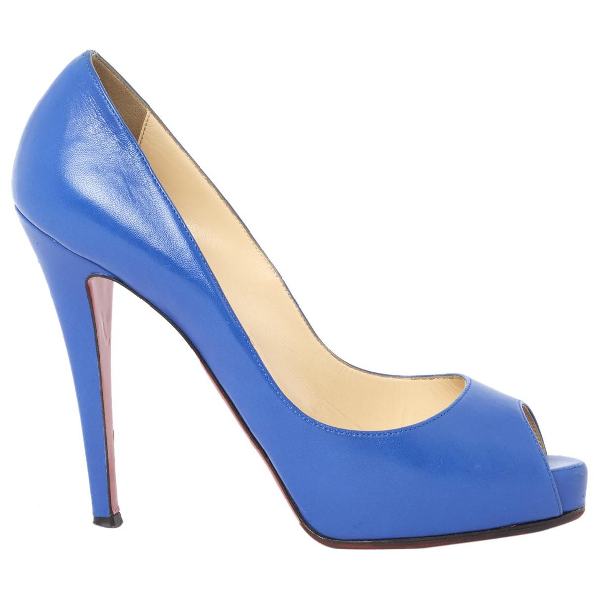 Pre-owned - Very Privé leather court shoes Christian Louboutin 7fzIq8b