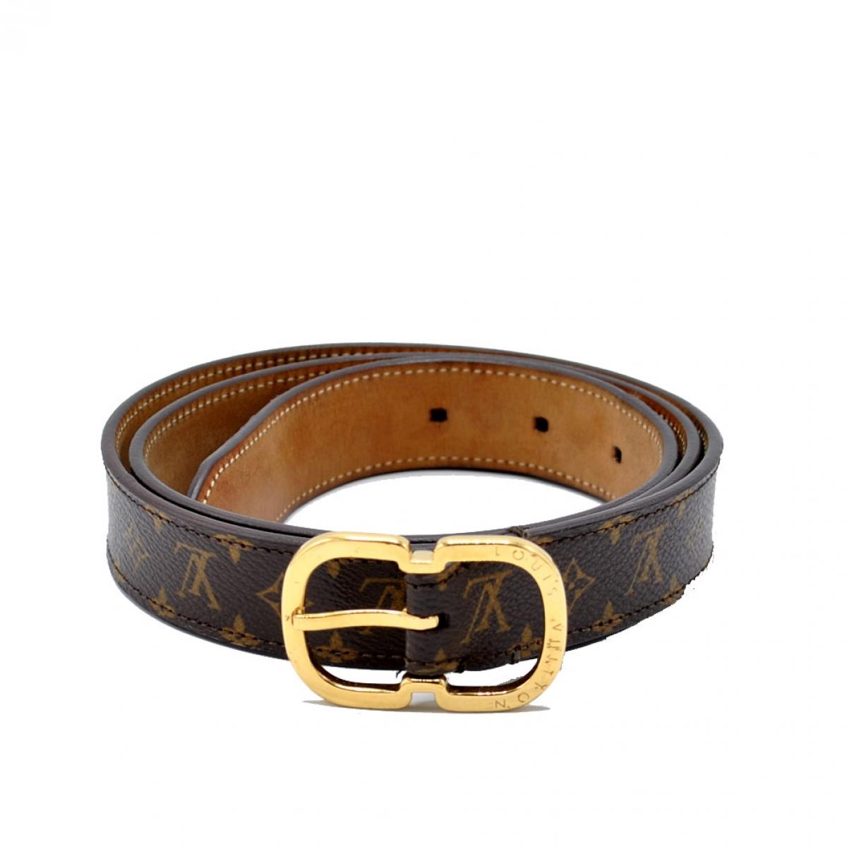ee9518409b28 Louis Vuitton. Women s Brown Leather Belt. £209 From Vestiaire Collective