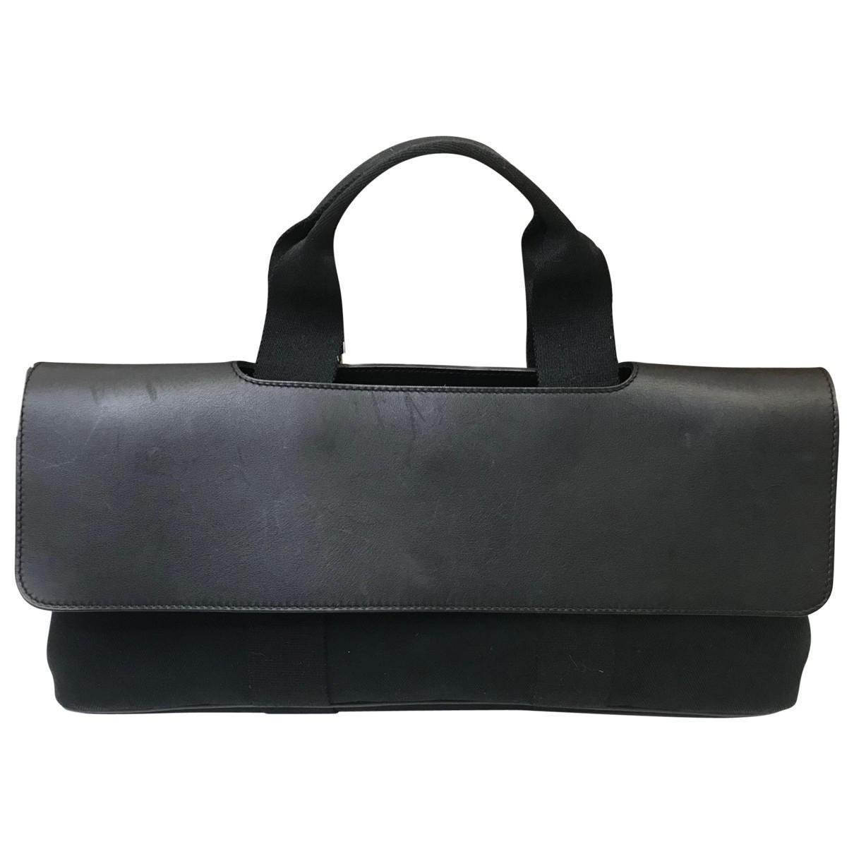 4eb53feb2f ... uk hermès. womens black valparaiso leather bag 3cb82 3d034