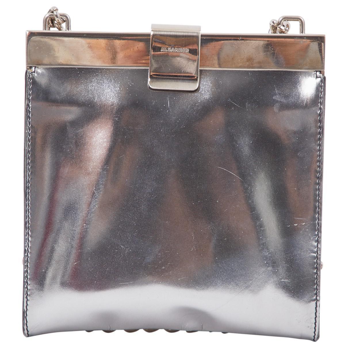 Jil Sander Pre-owned - Leather clutch bag Us17osJL7P