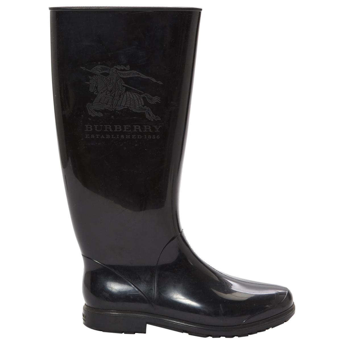 Pre-owned - Wellington boots Burberry xT7iym