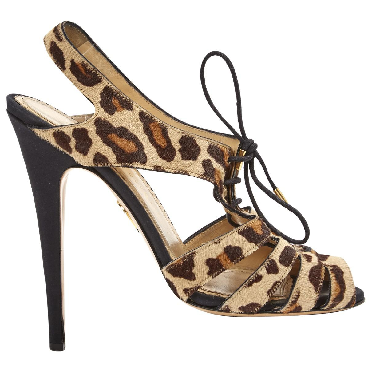 Pre-owned - Pony-style calfskin sandal Charlotte Olympia kbBRUO