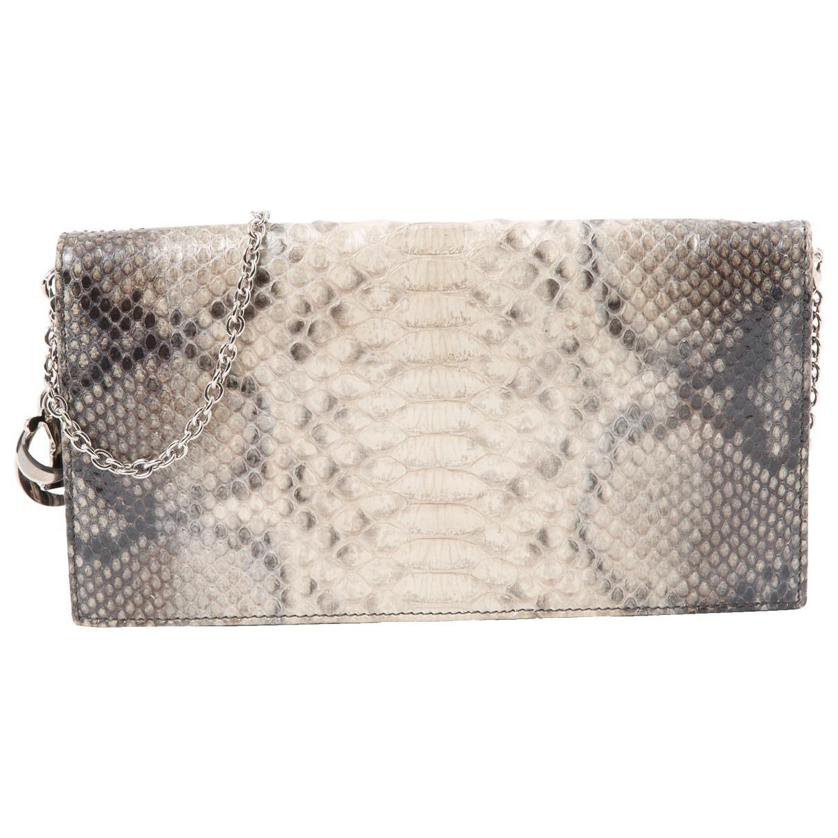Pre-owned - Exotic leathers clutch bag Dior OT0MnuQ
