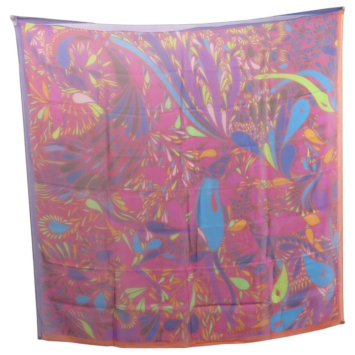 0628a68bd3 Foulard Carré Géant en soie Hermès en coloris Rose - Lyst
