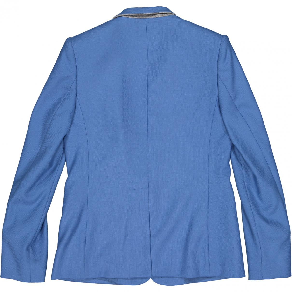 bf513225bf4 Stella McCartney - Blue Wool Jacket - Lyst. View fullscreen