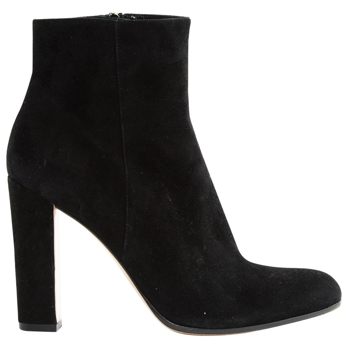Pre-owned - Leather ankle boots Gianvito Rossi KilbXJ5WZb