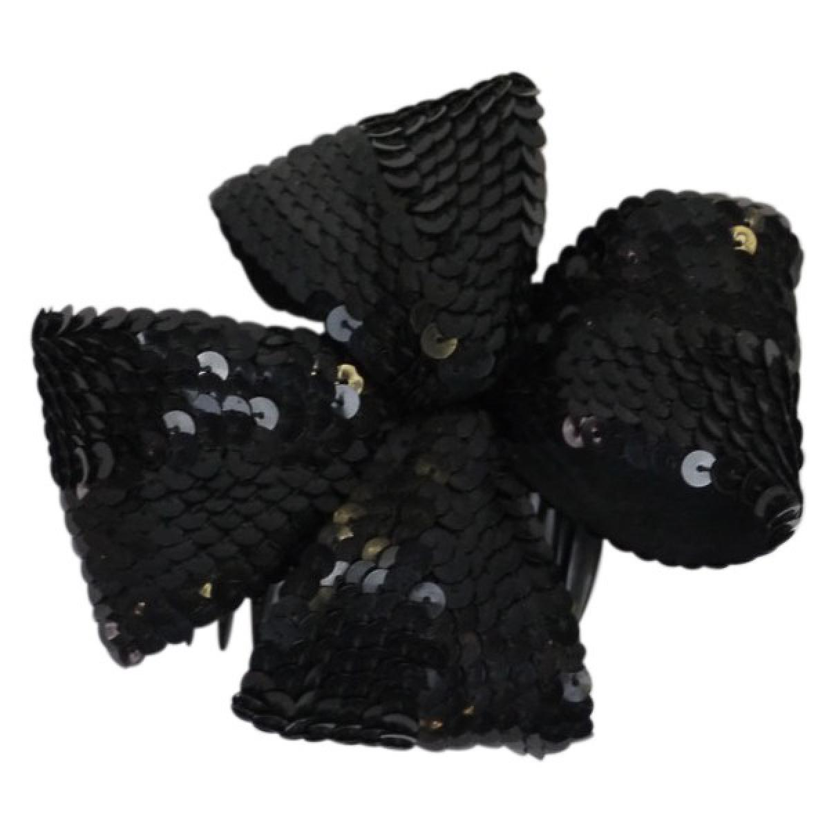 0876e768c5d Lyst - Chanel Pre-owned Hair Accessory in Black