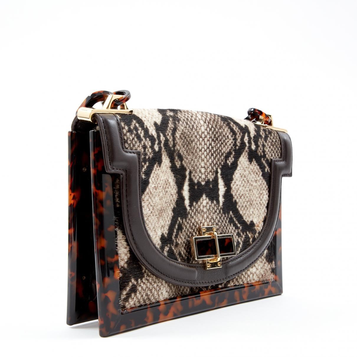 29f54cebf415 ... Multicolour Pony-style Calfskin Handbag - Lyst. View fullscreen