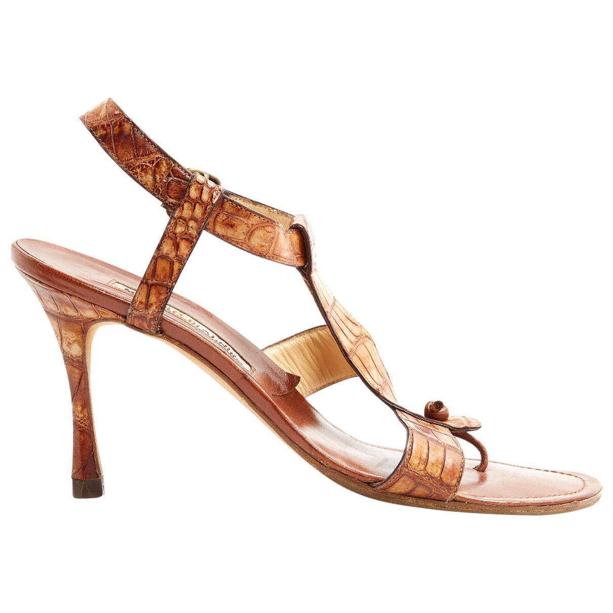 Pre-owned - Cloth sandal Dolce & Gabbana Q1IMQUEyd