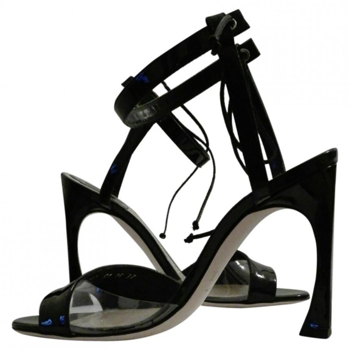 Pre-owned - Patent leather sandals Dior 3Zuuk