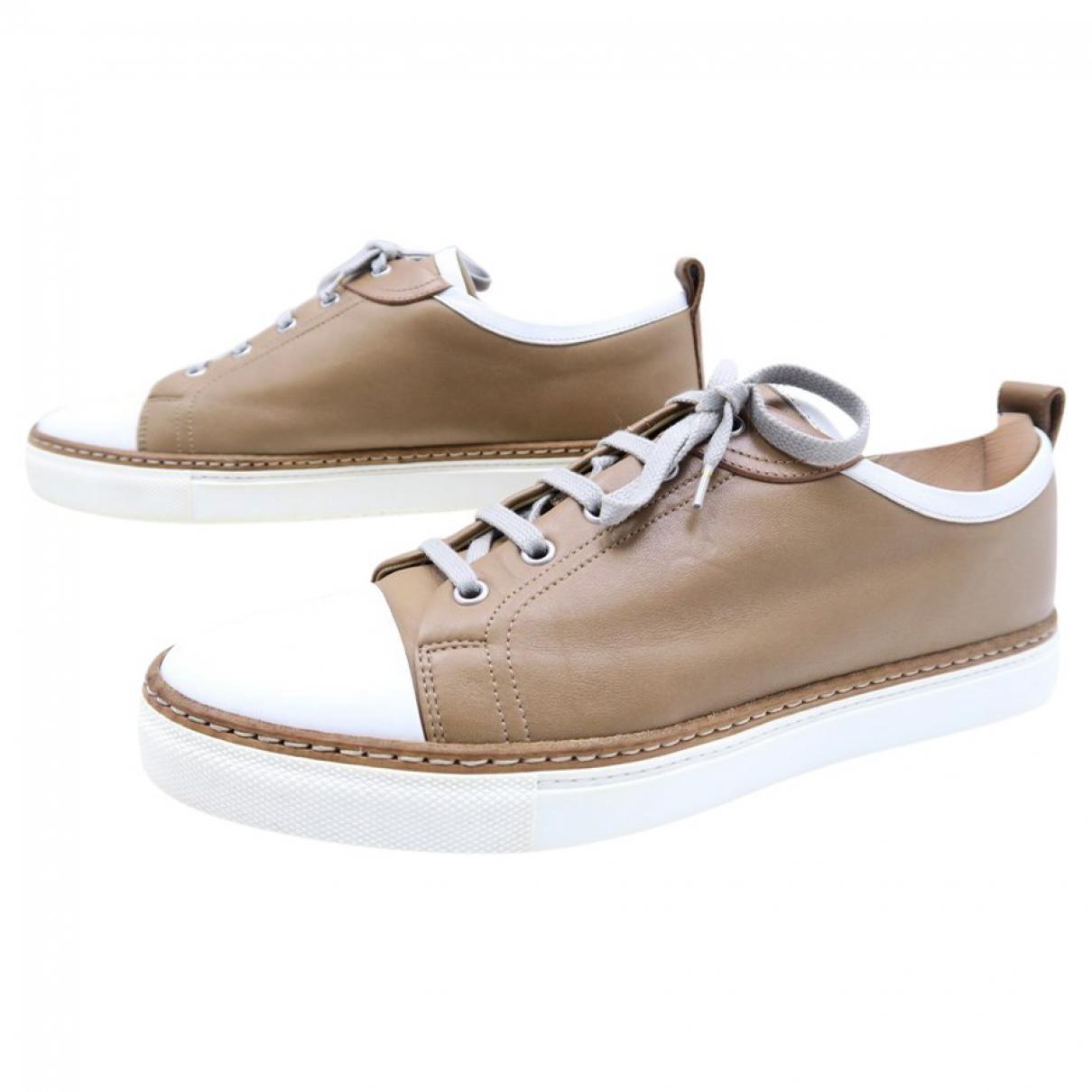 Hermès Leather Low Trainers VqL0CQ