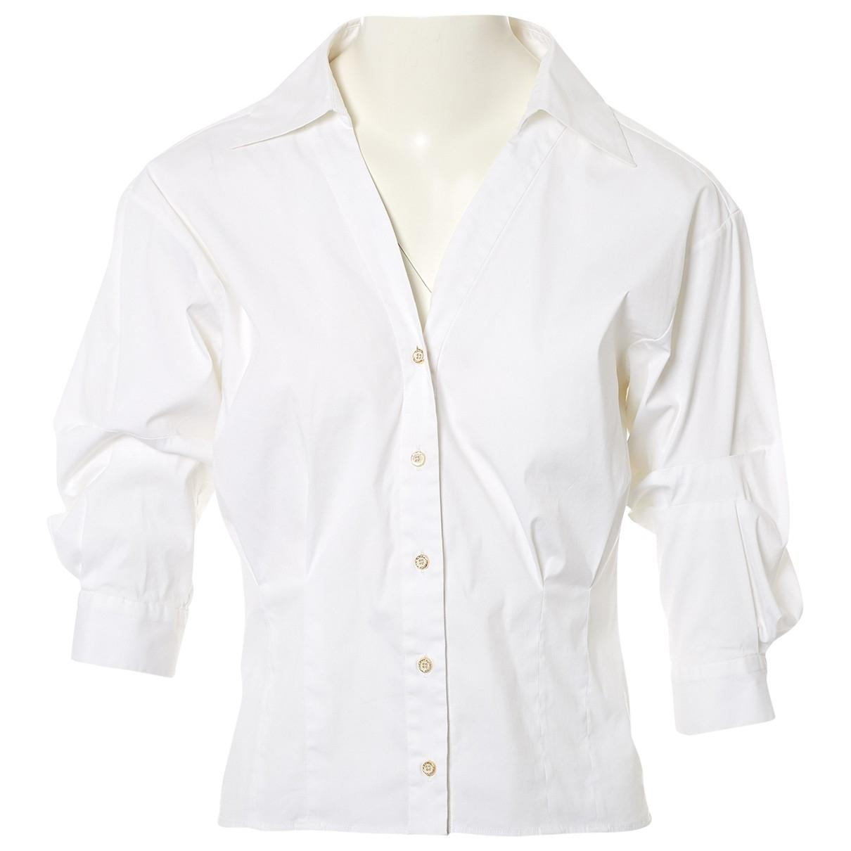 40325c93043b6a Oscar de la Renta Shirt in White - Lyst