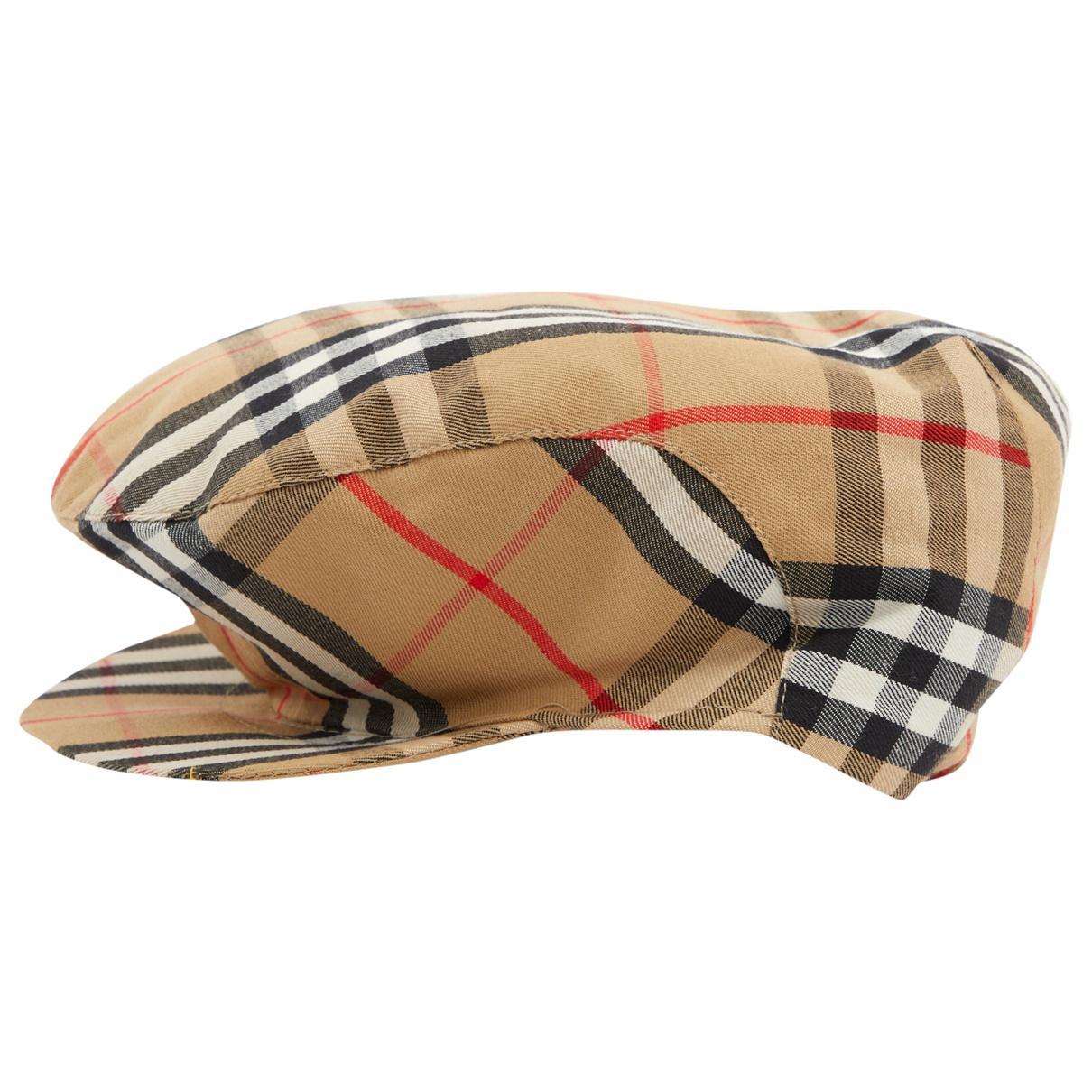 22c6dc408d4 Burberry. Women s Pre-owned Multicolour Cotton Hats.  137  123 From Vestiaire  Collective
