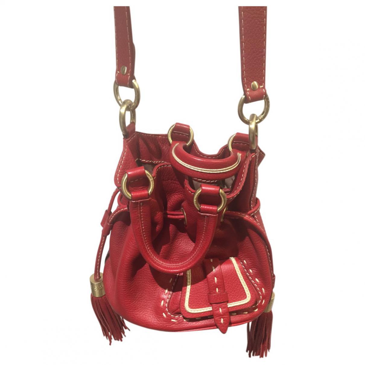 2f519e1758 Sac à main Brigitte Bardot en cuir Lancel en coloris Rouge - Lyst