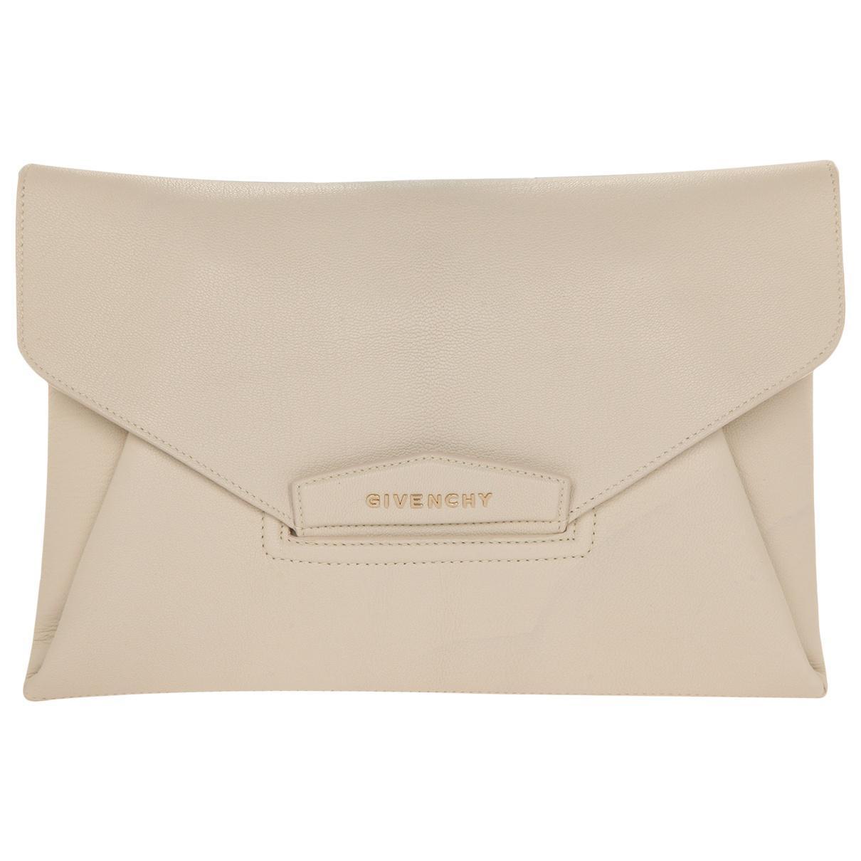 Givenchy Pre-owned - Antigona leather clutch bag nYimb