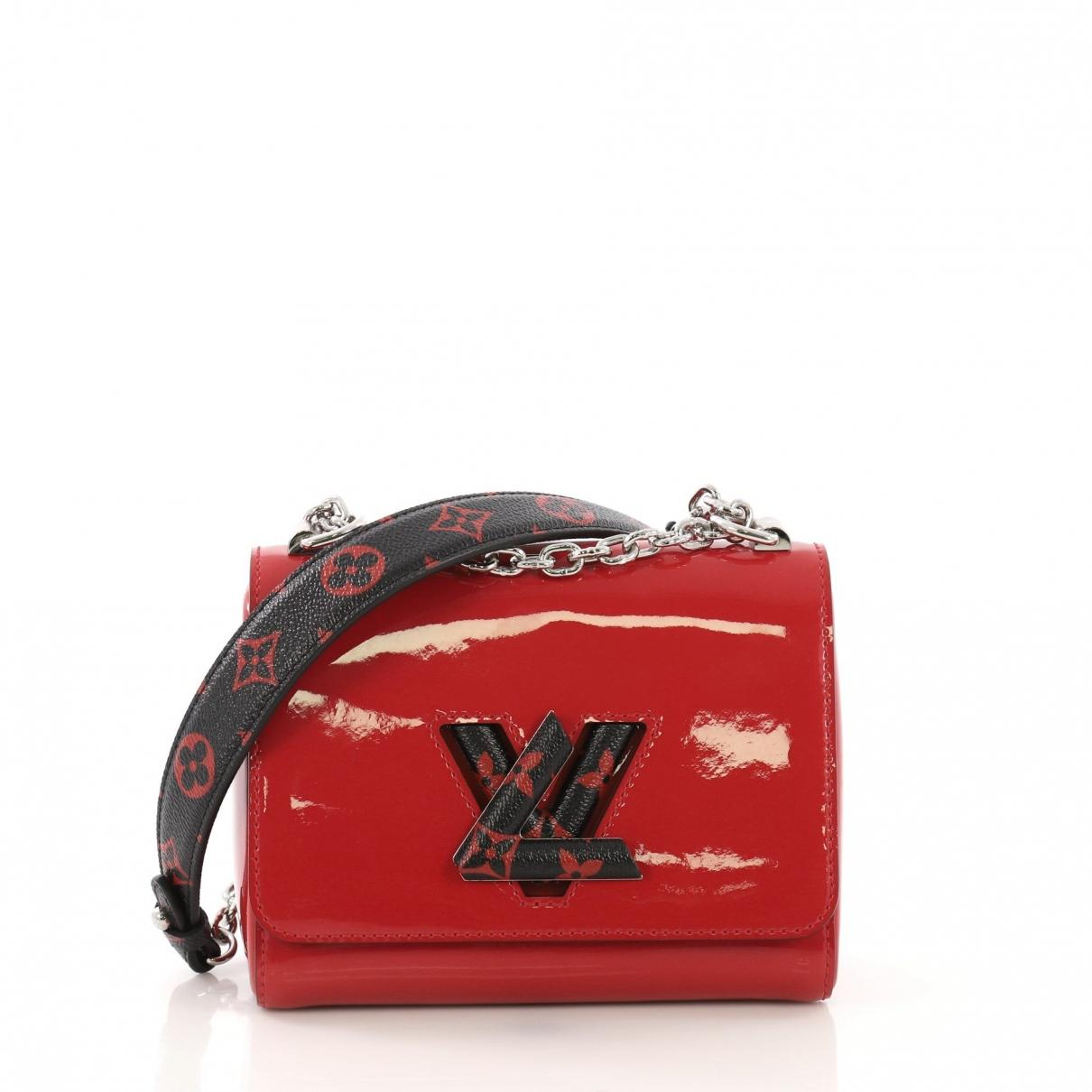 ac0699f497e2 Louis Vuitton Twist Red Patent Leather Handbag in Red - Lyst