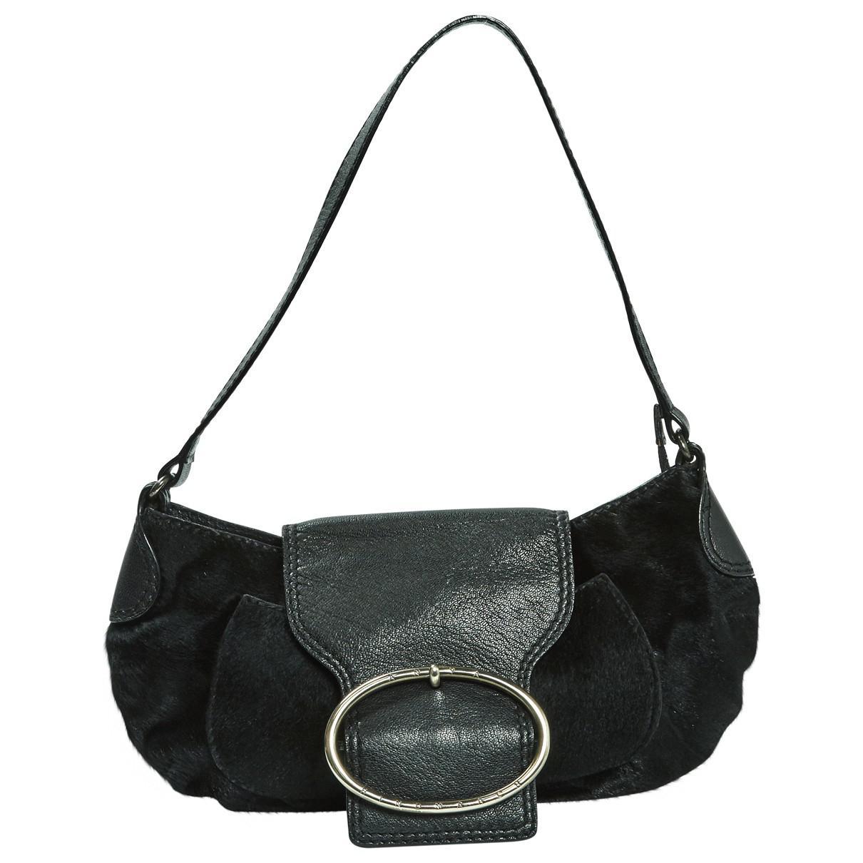 664be02f47c6 Lyst - Anya Hindmarch Pony-style Calfskin Mini Bag in Black