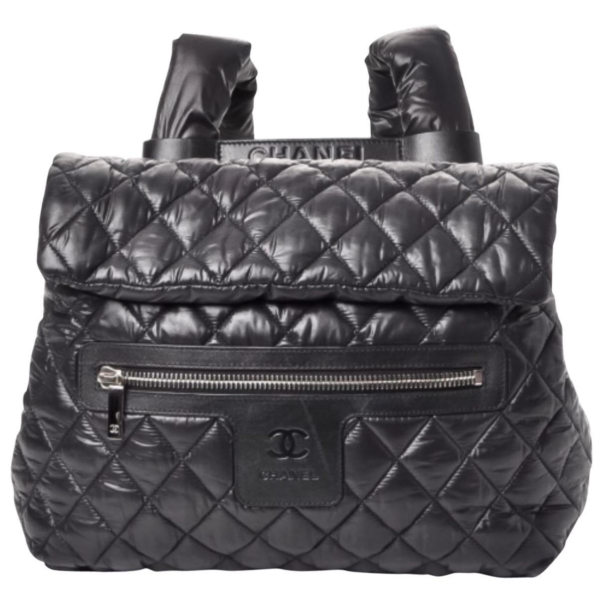 Lyst - Chanel Pre-owned Cocoon Backpack in Black a9b1ee9be24ec