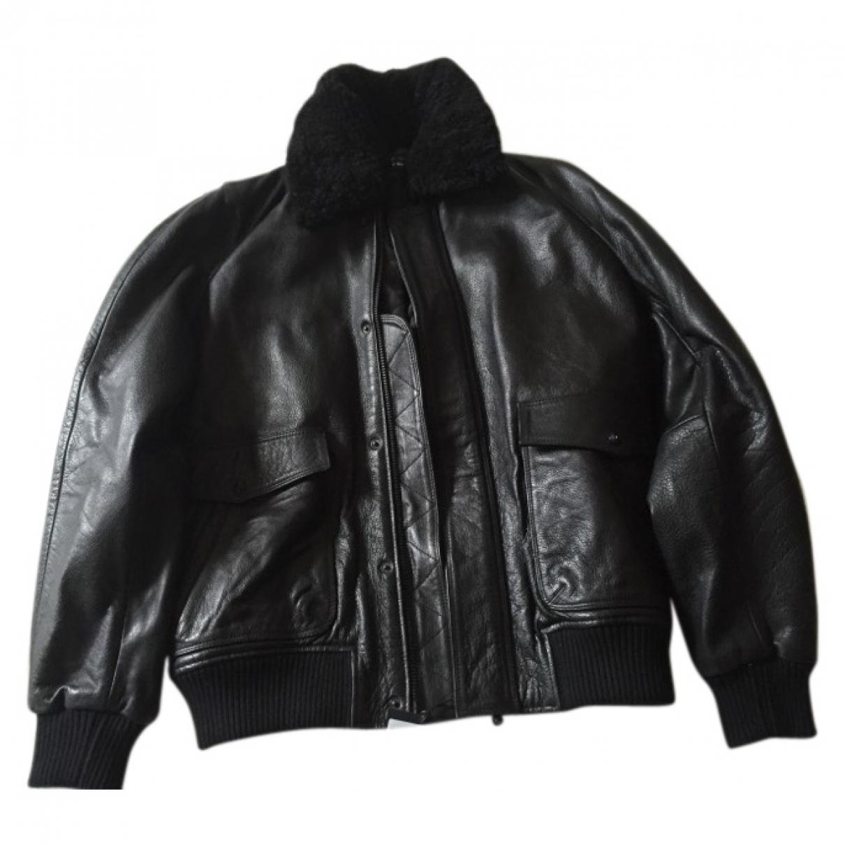 e7129c5384 Lyst - The Kooples Leather Jacket in Black for Men