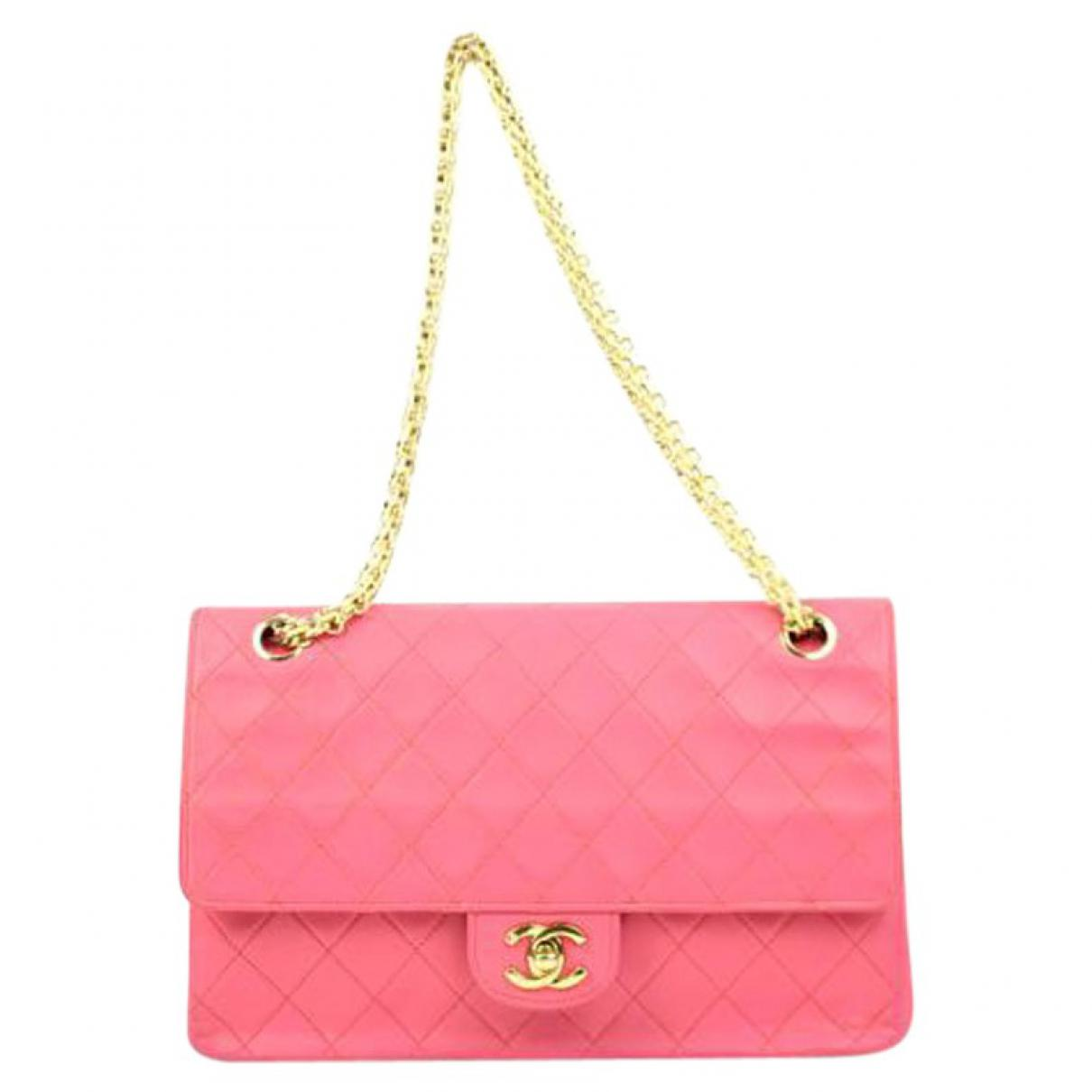 Chanel Women S Pink Pre Owned Handbag