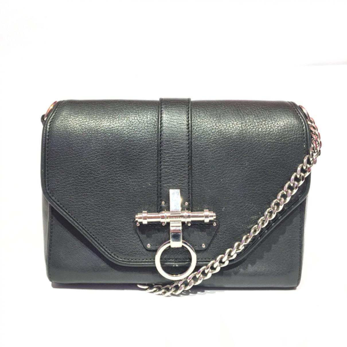 In Givenchy Black Lyst Leather Handbag Obsedia xeWrBodC
