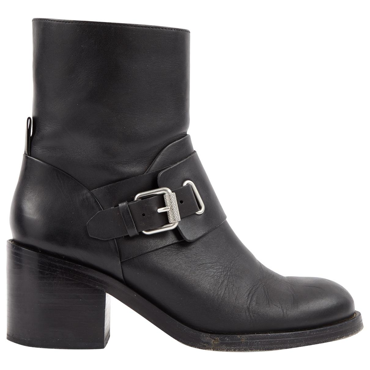 Pre-owned - Leather biker boots Allsaints Buy Cheap Get To Buy Discount Manchester Free Shipping Best Place TSoasXo